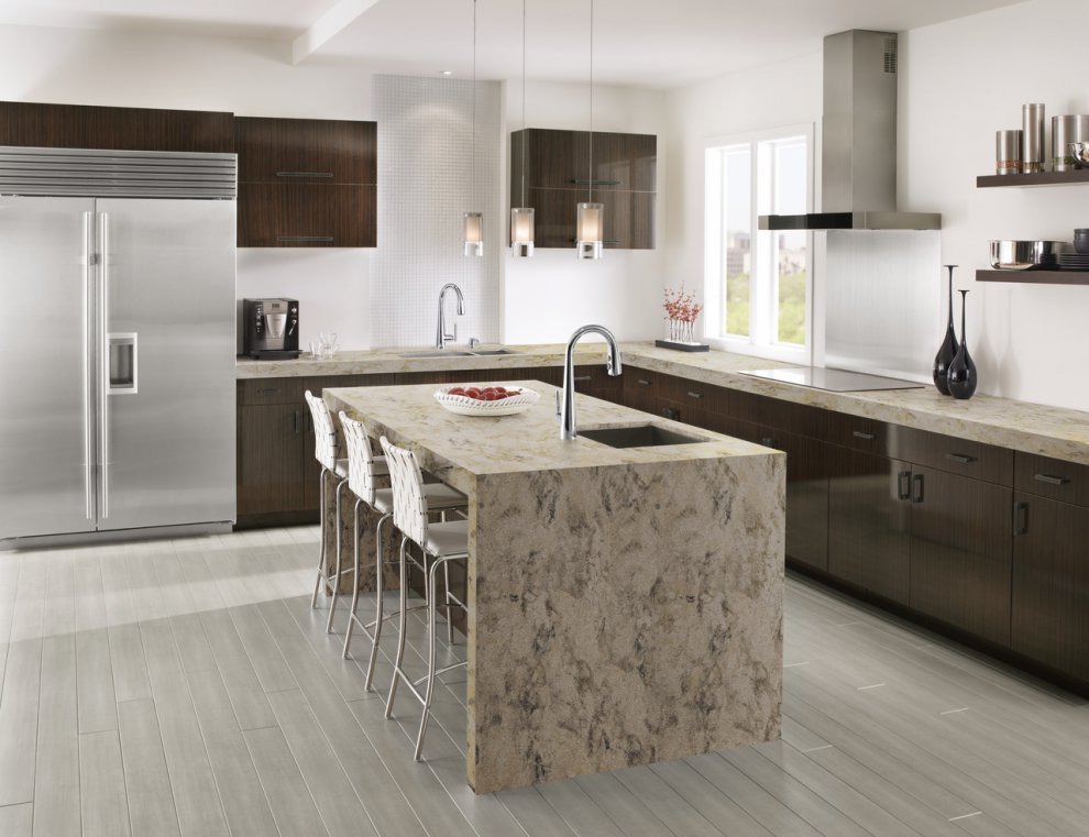 today are next its option s to take always level the an attractive surface solid seamless kitchen countertop with style mimicking by countertops materials designs appearance beautiful